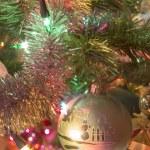 Beautiful glass balls on Christmas Tree — Stock Photo #57001117