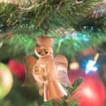 Beautiful glass balls on Christmas Tree — Stock Photo #57001427
