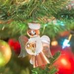 Beautiful glass balls on Christmas Tree — Stock Photo #57001597