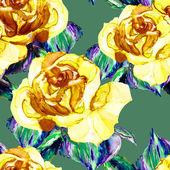 Padrão sem emenda de rosas — Fotografia Stock