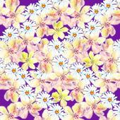 Beautiful Garden seamless pattern — Stock Photo