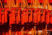 Mini torii gate souvenirs au sanctuaire de Fushimi Inari Taisha à Kyot — Photo