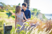 Young Happy Wedding Couple — Stock Photo