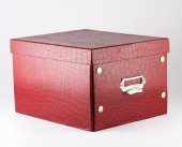 Scatola rossa — Foto Stock