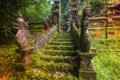 Bali temple at Ubud, Indonesia — Foto de Stock