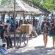 GILI ISLANDS, INDONESIA - MARCH 22: Gili islands are small tropical islands between Lombok and Bali islands. — Stock Photo #74173925