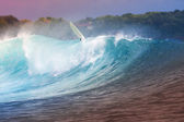Ocean Blue Wave — Stock Photo