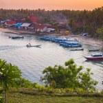 Tropical coastline of Nusa Penida island. — Stock Photo #74966449