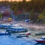 Tropical coastline of Nusa Penida island. — Stock Photo #74966473