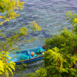 Tropical coastline of Nusa Penida island. — Stock Photo #74966507