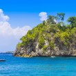 Tropical coastline of Nusa Penida island. — Stock Photo #74966637