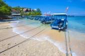 Tropical coastline of Nusa Penida island. — Stock Photo