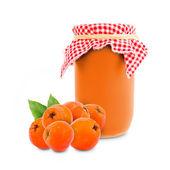 Rowanberry jar — Stock Photo