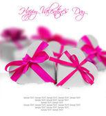 Valentine harten — Stockfoto