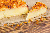 Almond cake — Stock Photo