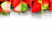 Strawberry mix — Stock Photo