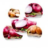 Onion mix — Stock Photo