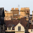Chimney stacks and roofs in Edinburgh's Old Town, Scotland — Stock Photo #59402293