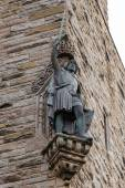 William Wallace statue at The National Wallace Monument in Stirl — Stock Photo
