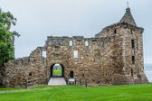 View of St. Andrews Castle front entrance — Stock Photo