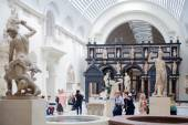 LONDON, UK - AUGUST 24, 2014:  Victoria and Albert Museum. V&A Museum is the world's largest museum of decorative arts and design. — Stock Photo