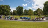 UK - JULY 29, 2014: Hyde park — Stock Photo