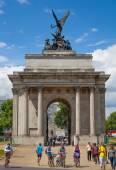 Triumph arch in London, Green park — Stock Photo