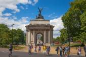 Triumph arch in London, Green park — Stock Photo