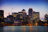 LONDON, UK - June 17, 2014: Canary wharf business and banking aria — Stockfoto