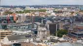 LONDON, UK - AUGUST 9, 2014 London view. City of London the leading centres of global finance. Office buildings with luxury working spaces — Stock Photo