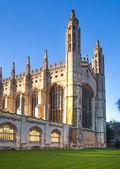 кембридж, великобритания - 18 января 2015: королевский колледж (начатый в 1446 henry vi). исторические здания — Стоковое фото