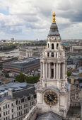 Londres, Reino Unido - 09 de agosto de 2014. Vista panorámica de Londres de la Catedral de St. Paul. — Foto de Stock