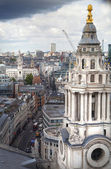 LONDON, UK - AUGUST 9, 2014. London's panorama view from St. Paul cathedral. — Stockfoto