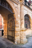 CAMBRIDGE, UK - JANUARY 18, 2015: Gates of zoological museum — Stock Photo