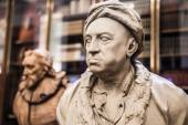 Louis-François. Sculpture of The Enlightenment Gallery British museum — ストック写真