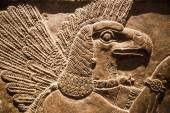 Hunting relief from Palace of Assurbanipal in Nineveh, Assyria — Stock Photo