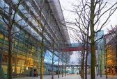 LONDON, UK -  MARCH 28, 2015: Heathrow airport Terminal 5 — Stock Photo