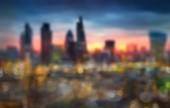 London, Uk - 15. April 2015: Der Londoner Panorama im Sonnenuntergang. — Stockfoto