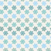 Vector Color abstract snowflake pattern — Stock Vector