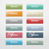 Web buttons.Part I — Stock Vector