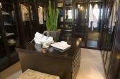 Luxury home dressing room. — Stock Photo