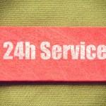 24h service — Stock Photo #71346133