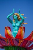 Carnival of Viareggio — Stock Photo
