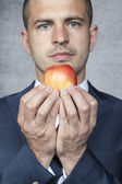 Healthy food is the future of business — Stock Photo