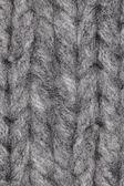 Thick gray sweater — Stock Photo