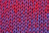 Red and blue fibers — Stock Photo