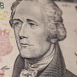 Ten dollar bill Hamilton — Stock Photo #65163043