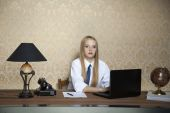 Hard work in the office — Stock Photo