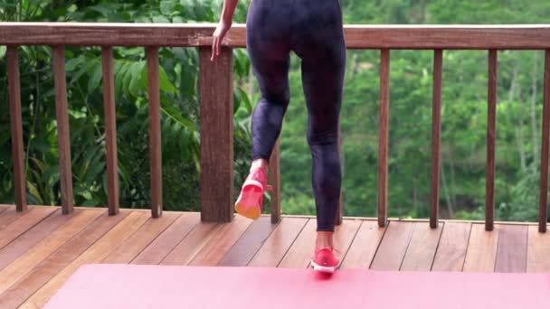 Jogger stock videos royalty free jogger footages for Terrace jogging track