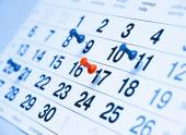 A calendar — Stock Photo